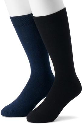 Dr. Scholl's Dr. Scholls Men's 2-pack Crew Dressy Casual Socks