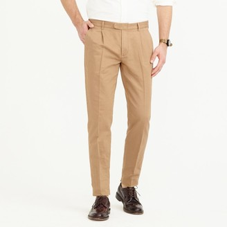 Pleated Bowery slim pant in garment-dyed Italian chino $118 thestylecure.com