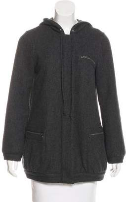 Steven Alan Wool Hooded Jacket