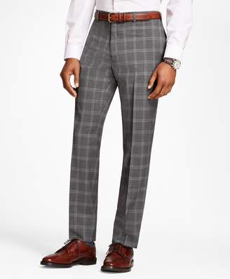 Brooks Brothers Plaid Wool Suit Trousers