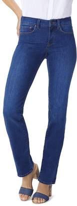 NYDJ Marilyn Straight-Leg Jeans in Cooper