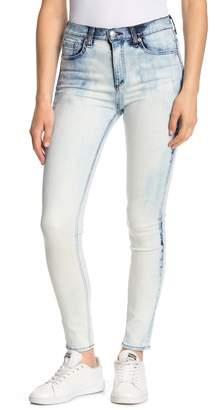 Rag & Bone Bleach Wash High Rise Skinny Jeans