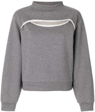 Alexander Wang cutout sweatshirt