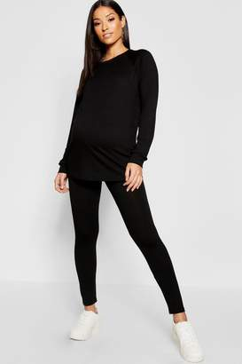 boohoo Maternity Nursing Lounge Set