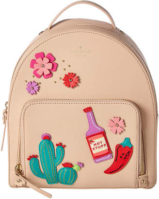 Kate Spade Cactus Tomi New Horizons Leather Backpack