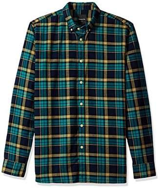Barney Cools Men's Long Sleeve Plaid Shirt