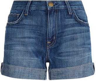 Current/Elliott Current Elliott Boyfriend Rolled Shorts