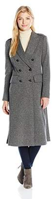 Jones New York Women's City Herringbone Long Coat $161.67 thestylecure.com