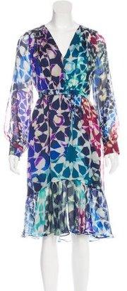 Matthew Williamson Silk Printed Dress w/ Tags