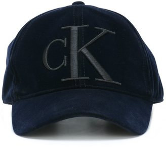 Calvin Klein Jeans embroidered baseball cap $57.94 thestylecure.com