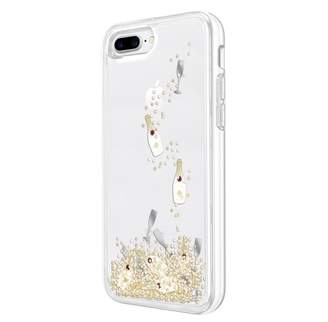 Kate Spade Case for iPhone 7 Plus - Champagne Bottle/Gold Glitter