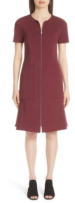 Lafayette 148 New York Sonya Zip Front Dress