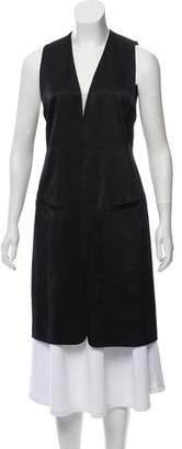 Donna Karan Silk Longline Vest