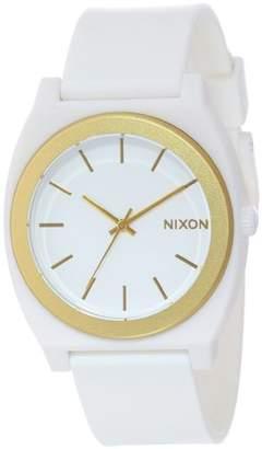 Nixon Men's A1191297-00 Time Teller P Analog Display Japanese Quartz White Watch
