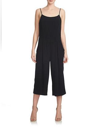 1 State Jersey Drop-Waist Culotte Jumpsuit $129 thestylecure.com