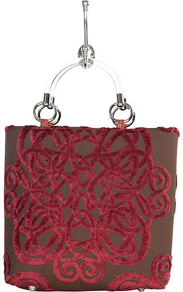 Baxter Designs Small Filigree Tote