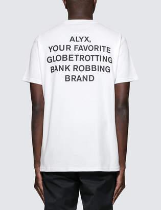 Alyx Globe Trotting S/S T-Shirt
