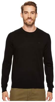 Lacoste 100% Cotton Jersey Crew Neck Sweater Men's Sweater