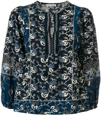 Ulla Johnson floral-embroidered blouse