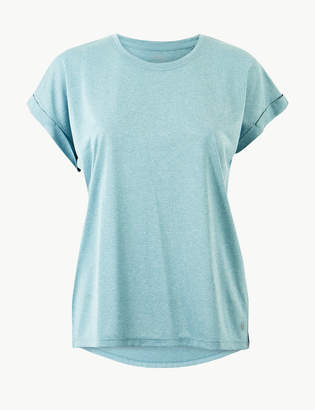 M&S CollectionMarks and Spencer Quick Dry Short Sleeve Sport Top