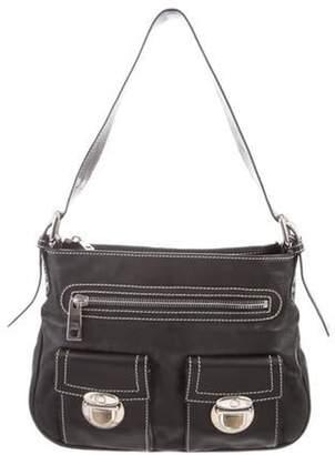 Marc Jacobs Leather Shoulder Bag Black Leather Shoulder Bag