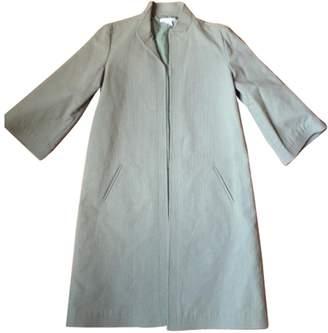 Les Prairies de Paris Green Cotton Coats