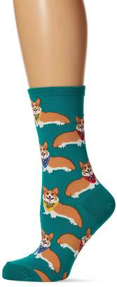 Corgi Socksmith Emerald Socks