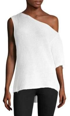 RtA Sloane One-Shoulder Pullover
