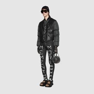 "Gucci Super skinny pant with ""Memento Mori"""