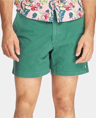 "Polo Ralph Lauren Men 6"" Classic-Fit Drawstring Shorts"