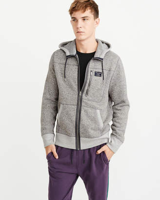 Abercrombie & Fitch Sweater Fleece Full-Zip Hoodie