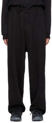 Vetements Black Bro Large Heavy Jogging Pants