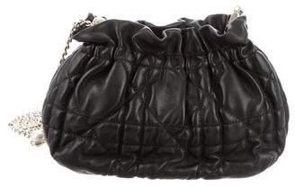 Christian Dior Cannage Leather Crossbody