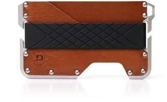 CNC Costume National Dango Products Dango Dapper EDC Wallet - Made in USA - Genuine Leather, Alum, RFID Blocking