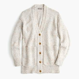 J.Crew Point Sur oversized patch-pocket cardigan sweater