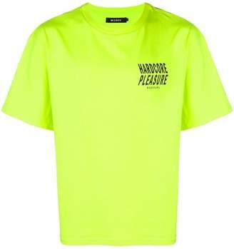 Misbhv 'hardcore pleasure' stamped T-shirt