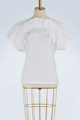 Alexander McQueen Puffy-sleeved T-shirt