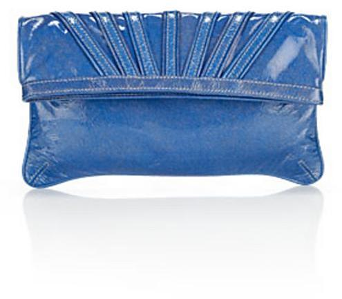 Goldenbleu Glitter Fold-Over Clutch