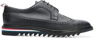 Thom Browne pebbled saw sole brogues
