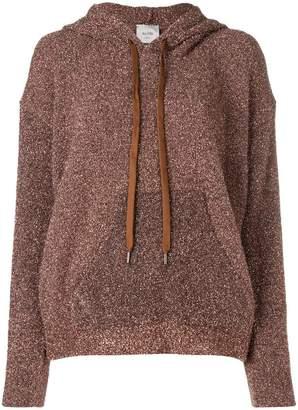 Alysi glitter hoodie