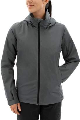 adidas Women's Outdoor Wandertag Climaproof Insulated Rain Jacket
