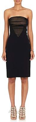 Alexander Wang Women's Crepe Strapless Dress