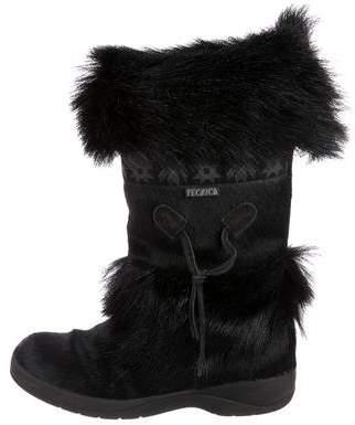 Tecnica Ponyhair Mid-Calf Boots