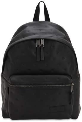 Eastpak 24l Pak'r Embossed Leather Backpack
