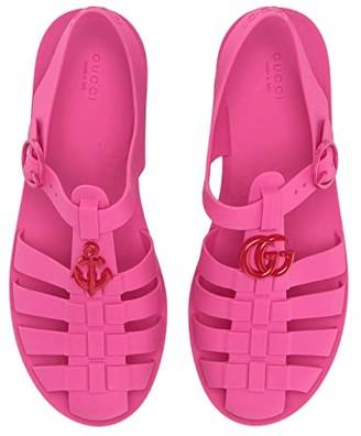 Gucci Kids GG Jelly Sandal (Little Kid)
