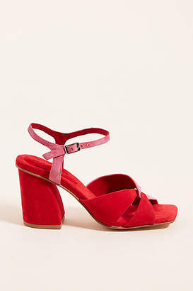 Jeffrey Campbell Antique Block-Heeled Sandals