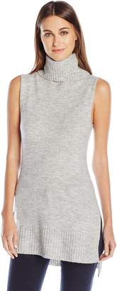 Noisy May Women's Milo Sleeveless Turtleneck Sweater