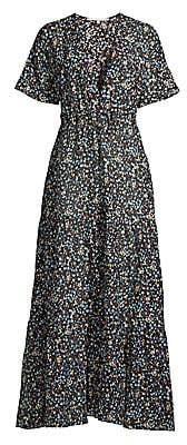 Stella McCartney Women's Pebble Print Maxi Dress