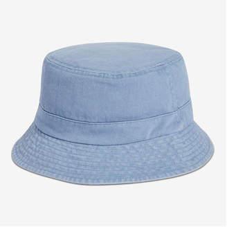 Joe Fresh Men's Bucket Hat, Denim Blue (Size O/S)