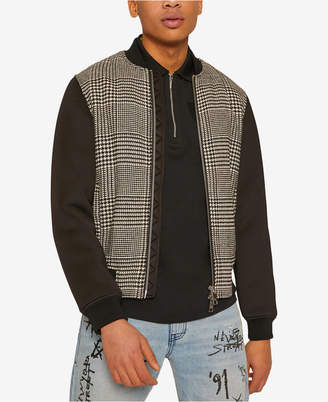 Armani Exchange Men's Lightweight Houndstooth Jacket